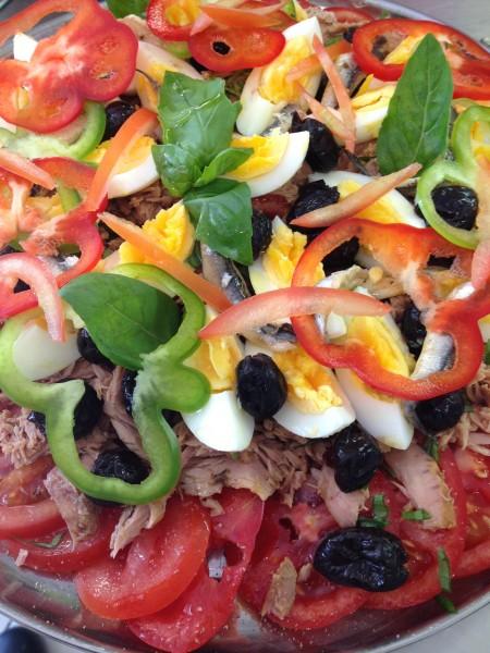 Salade de tomate à la Niçoise