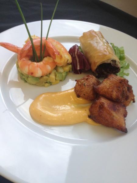 assiette antillaise